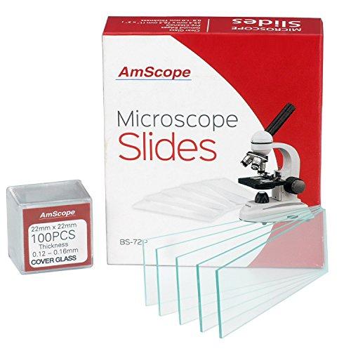 72-Vetrini-da-microscopio-vuoti-puliti-e-100-22-x-22-mm-quadrata-in-vetro-0