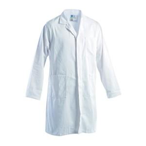 Camice-Da-Lavoro-Bianco-In-Cotone-Massaua-Sanfor-250-GrMq-0