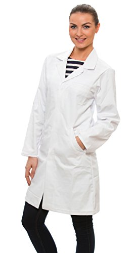 Dr-James-Camice-Bianco-da-Laboratorio-da-Donna-in-Policotone-0