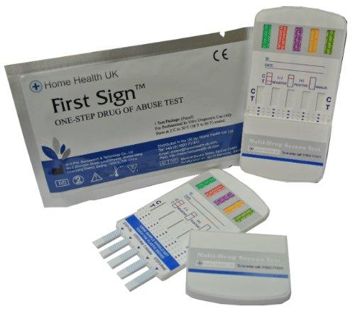 3 X Droga Test Urina 7 Diversi Farmaci Testati