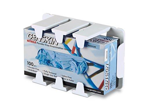Heathrow-Scientific-HD120258-Supporto-modulare-per-contenitore-guanti-3-pezzi-bianco-0