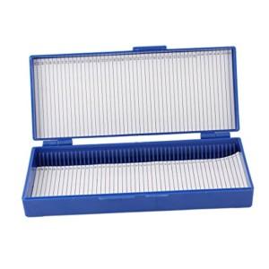 Sourcingmap-Custodia-Per-Vetrini-Microscopio-50-Spazi-In-Plastica-Blu-Elettrico-0-0