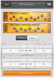 app per smartphone cromatografia