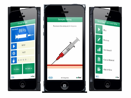 Emogas analisi, Roche lancia un'app gratuita con test e mini-giochi