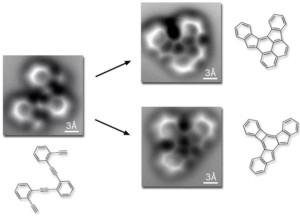 idrocarburi ciclici al microscopio atomico