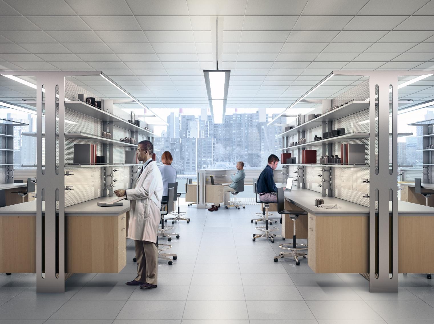 Laboratorio di ricerca, come progettare uno spazio efficiente e scalabile