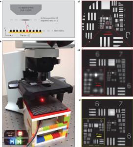 microscopio da laboratorio migliorare risoluzione