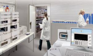 Monitoraggio della tempratura in laboratorio con testo saveris