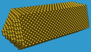 nanotubo nanobastoncino nanoparticella oro