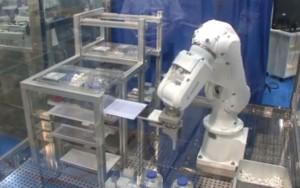 robot gestione muridi in laboratorio topi