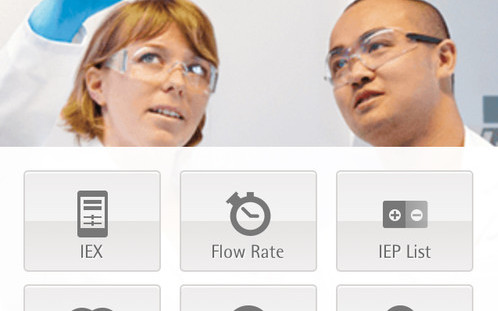 Sartorius sartobind: una app per smartphone per cromatografia