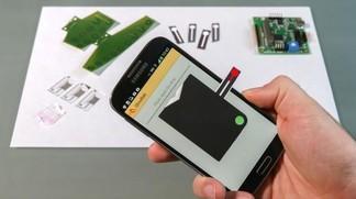 analisi del sangue smartphone