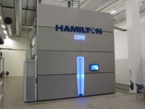 la cella frigorifera Hamilton Bios