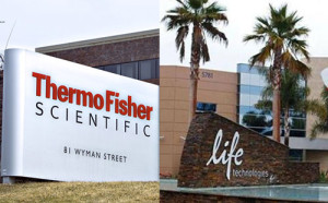 acquisizione di life technologies da parte di thermo fisher