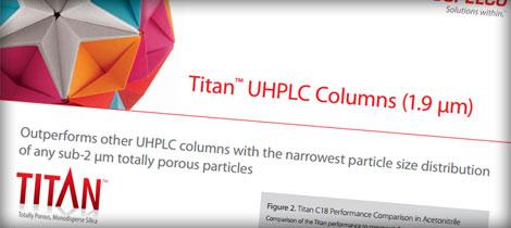colonne uhplc di sigma aldrich titan