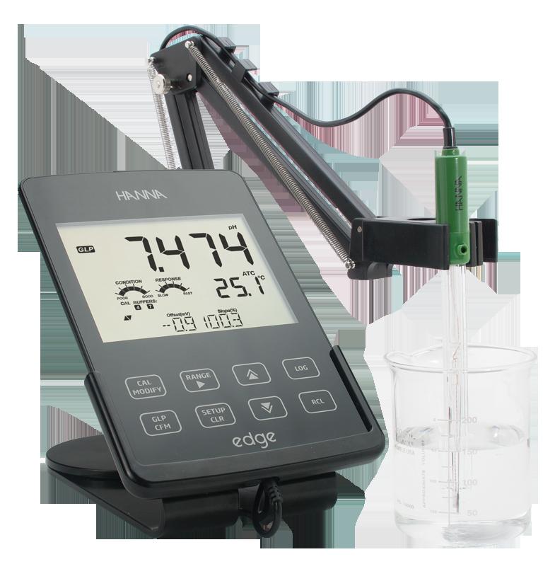 Edge, misuratore portatile da laboratorio da Hanna Instruments