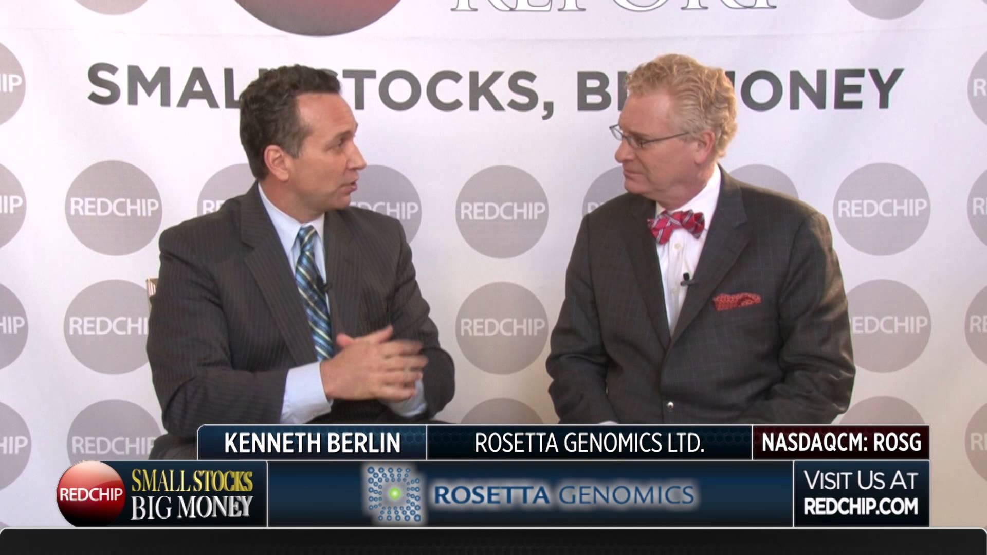 Accordo di distribuzione AXA e Rosetta Genomics