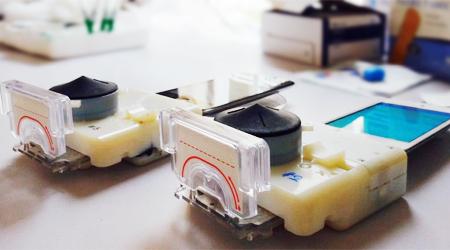 test HIV aids rapido con smartphone