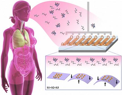 Tumore ovarico, un array è ora in grado diagnosticarlo tramite il respiro